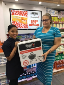 Chante Roberts - Winner of our Weber Competition